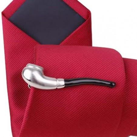 Spona na kravatu dýmka, fajfka