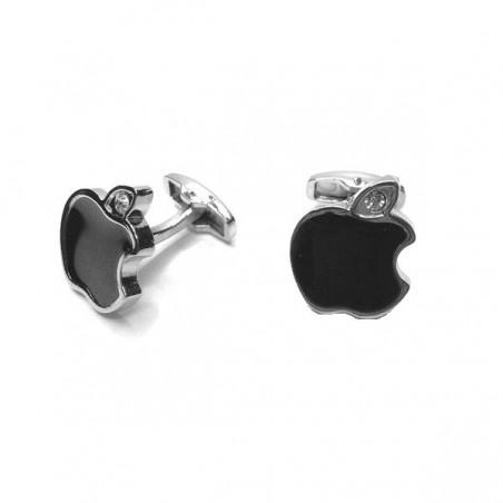 Manžetové knoflíčky s motivem Apple