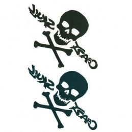 Nalepovací dočasné tetování lebka, pirátské, se zkříženými hnáty
