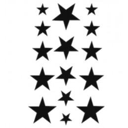 Tatuaj adeziv cu motiv de cârmă de marinar și ancoră