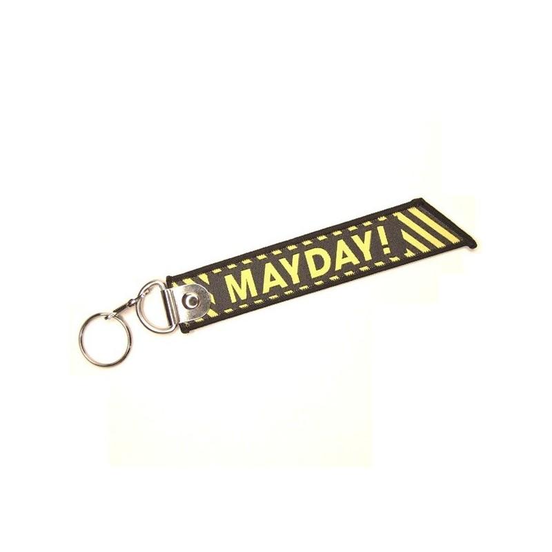 Přívěsek na klíče MAYDAY, volání o pomoc