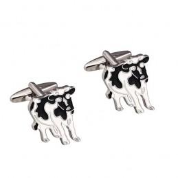 Manžetové gombíky krava, pre farmárov