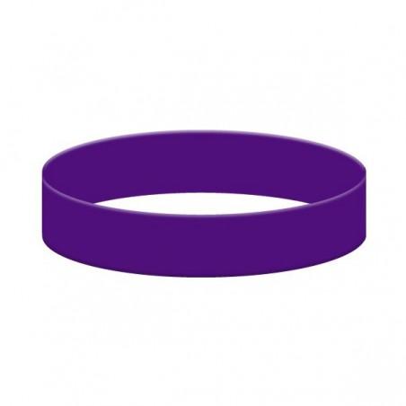 Bratara violet din silicon