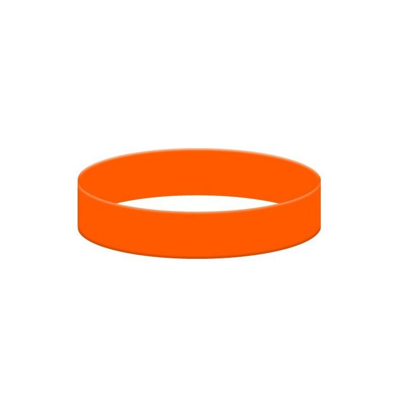 Orange Silikonarmband