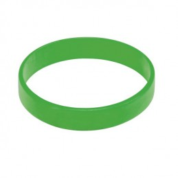 Silikonový náramek bez potisku zelený