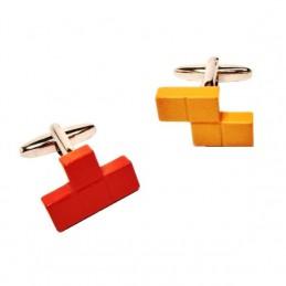 Manžetové gombíky tetris kocky L a S