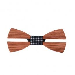 Motýlek pánský dřevěný minimalistický Klasik
