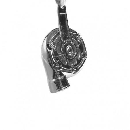 Přívěsek nerezový turbodmychadlo, pro automechanika, tuning