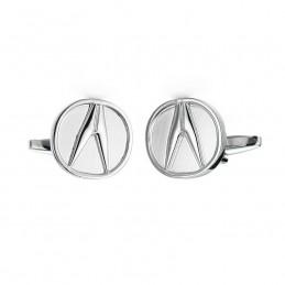 Spinki do mankietów z motywem samochodu marki Acura