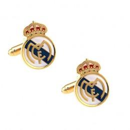 Manžetové gombíky s motívom FC Real Madrid