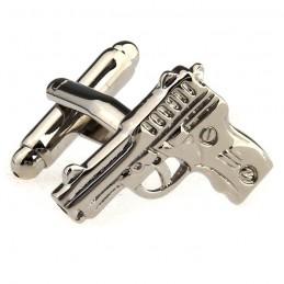 Spinki do mankietów Pistolet