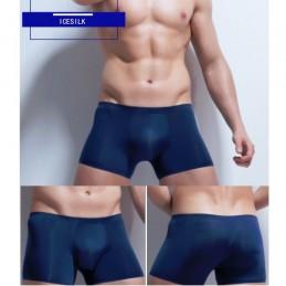 Pánské boxerky bezešvé, ultratenké, Ice Silk