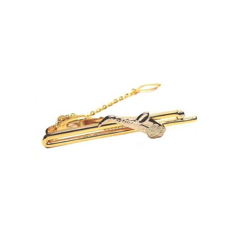 Spona na kravatu kotva pro jachtaře, námořníky