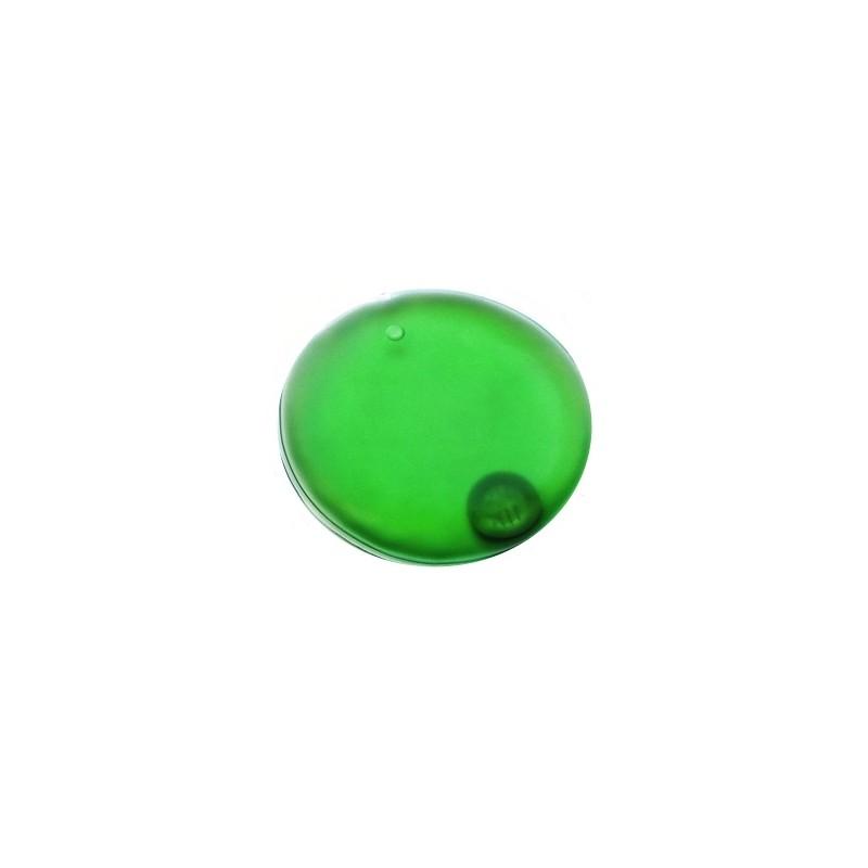 Hřejivý termo polštářek kolečko, kapesní ohřívač rukou zelené