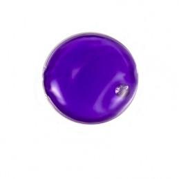 Hřejivý termo polštářek kolečko, kapesní ohřívač rukou fialové