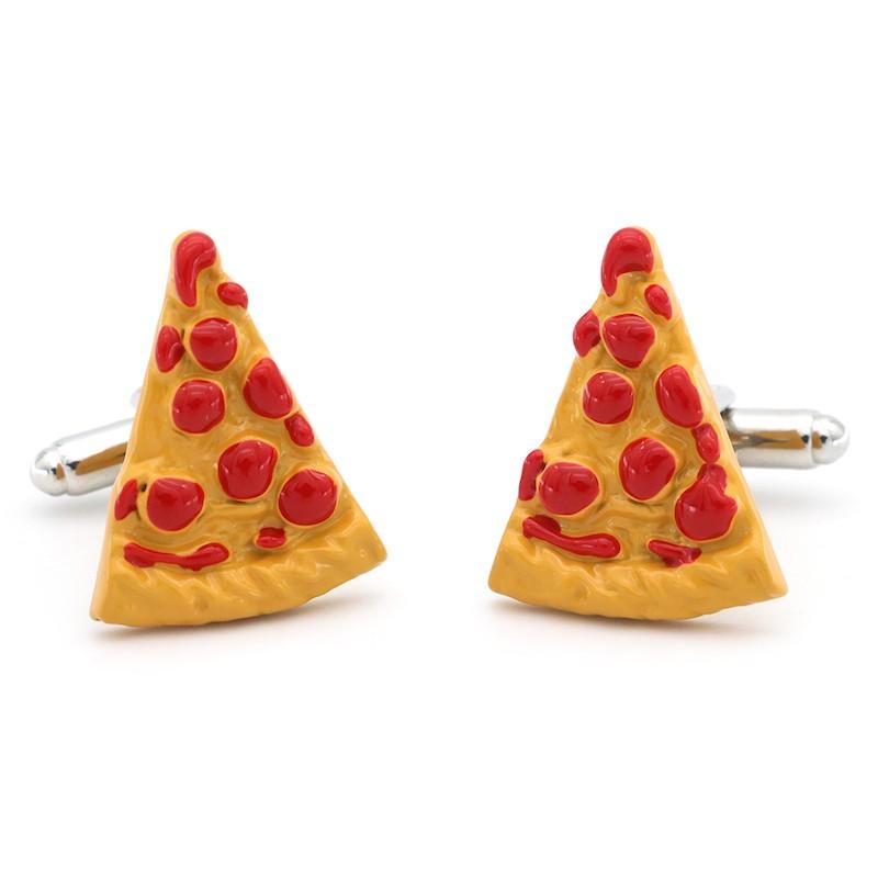 Manžetové knoflíčky pizza