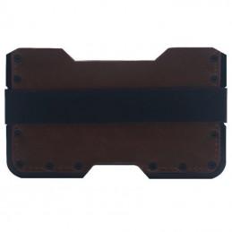 RFID hliníkové pouzdro na karty, doklady černé