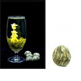 Kvetoucí, květinový čaj, Dong Fang Mei Ren, jasmínový čaj s květinou