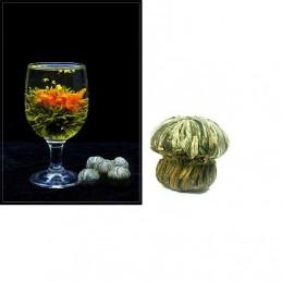 Kvitnúci, kvetinový čaj, Dan Gui Piao Xiang, kvet vonokvetka, ľalie a zelený čaj