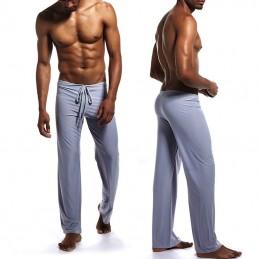 Pánské pyžamové kalhoty, chladivé na spaní šedé