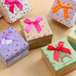 Darčeková krabička malá na prstienok, prsteň, náušnice