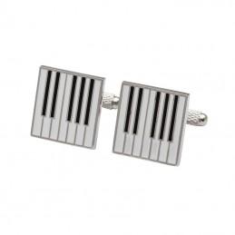 Manžetové gombíky hudobné klávesy