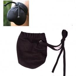 Erotický pánský pytlík na pytlík černý