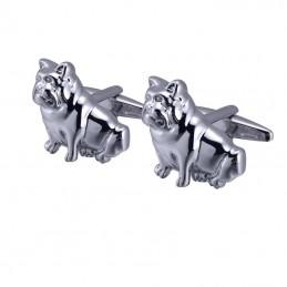 Manžetové knoflíčky pes anglický buldog