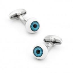 Manžetové knoflíčky oko, oční bulva, oční lékař