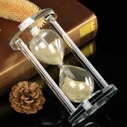 Presýpacie hodiny priehľadné k naplneniu, pamätná dekorácie, urna