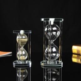 Přesýpací hodiny průhledné k naplnění, památeční dekorace, urna