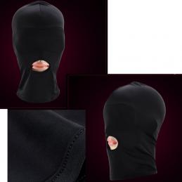 BDSM erotická kukla s otvorom na ústa