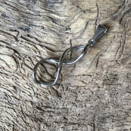 Přívěsek ocel ležatá osmička nekonečno