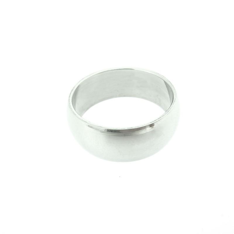 Prsten unisex hladký, lesklý z chirurgické oceli