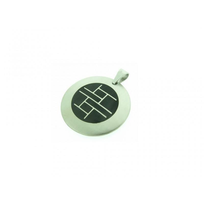 Amulet pro šteští z chirurgické oceli