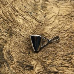 Prívesok nerezový hrnček pre kaviarnika