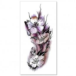 Dočasné nalepovacie tetovanie farebné rozkvitnutý šípok, šípková ruža