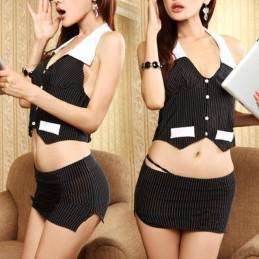 Erotický kostým sekretárka