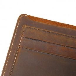 Peněženka pánská z pravé kůže, kožená, vintage