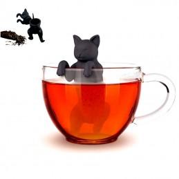 Čajové sitko silikónová mačka