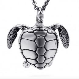 Veľký prívesok nerezová korytnačka, kareta