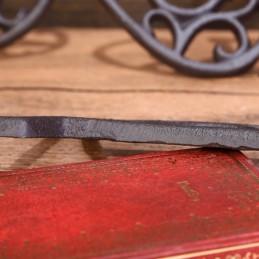 Litinové, železné číslo 7, dekorace na dům, domovní číslo na hřebík