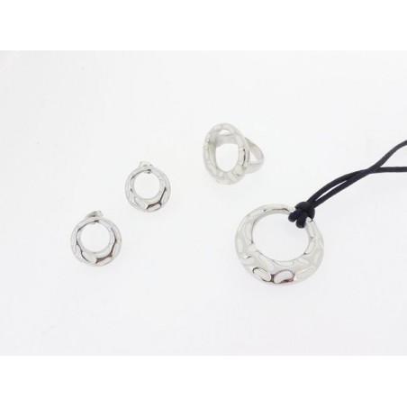 Souprava šperky - set přívěsek, náušnice a prsten