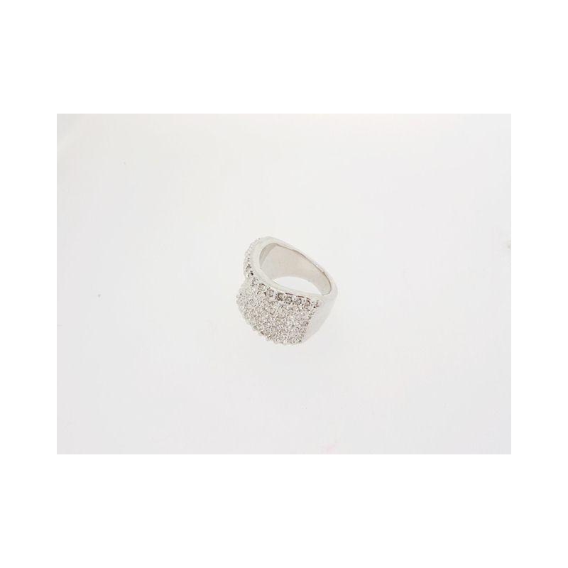 Masivní prsten se zirkony