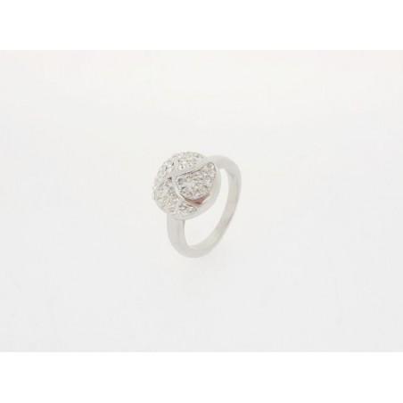 Ring mit Swarovski-Steinen