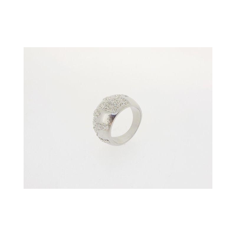 Široký prsten se zirkony