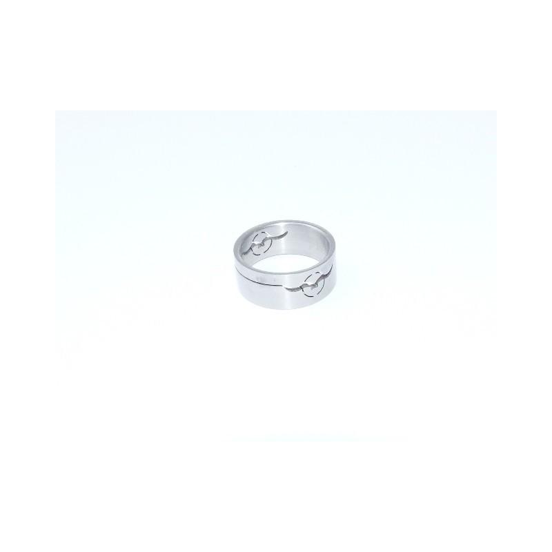 Prsten z chirurgické oceli Pták