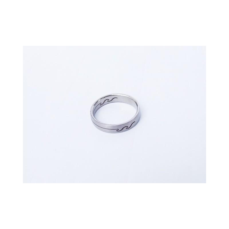 Úzký prsten Vlnka