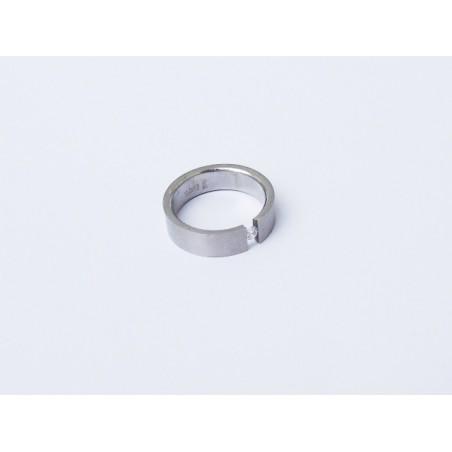 Trendy Ring aus Edelstahl