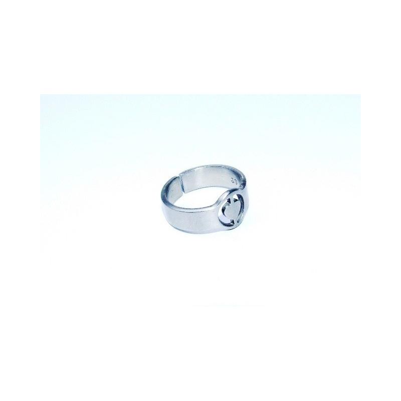 Prsten matná ocel